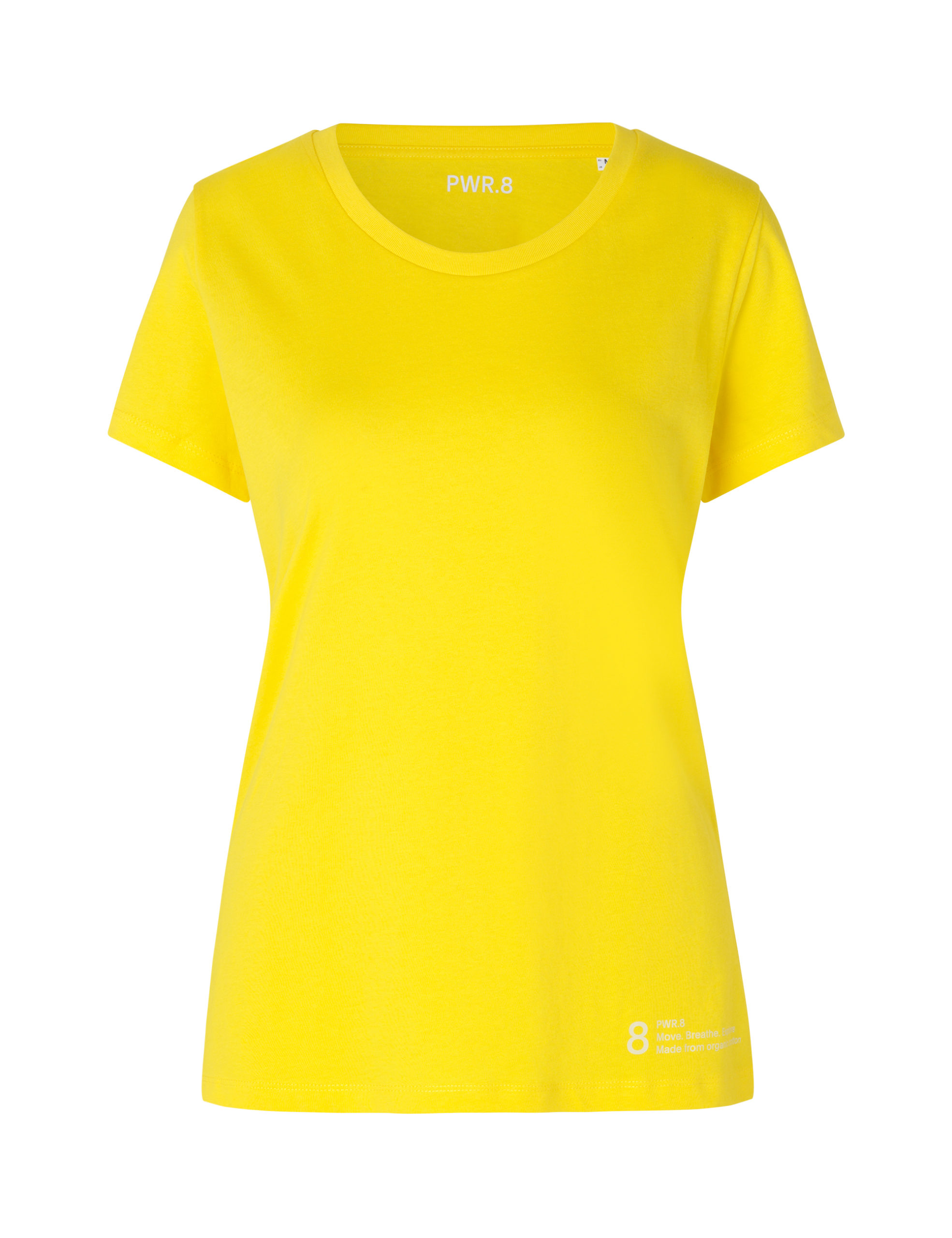 PWR_Women_TShirt_Yellow